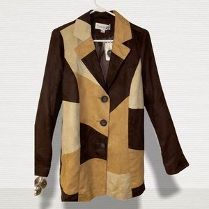 Forever 21 (Brown Checkered Jacket)